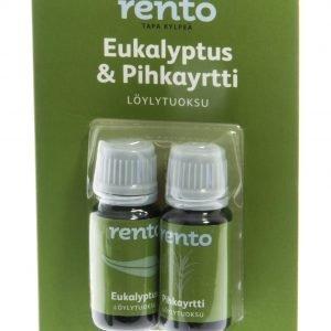 Rento Löylytuoksu Eukalyptus & Pihkayrtti 2 X 10 Ml